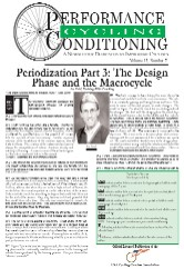 Performance Conditioning for Cycling Newsletter