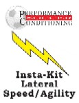 Insta-Kit Soccer Lateral Speed/Agility – SR166