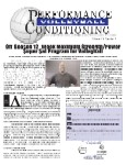 Performance Conditioning Volleyball Newsletter