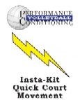 Insta-Kit Volleyball Quick Court Movement – VB117