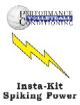 Insta-Kit Volleyball Spiking Power – VB116