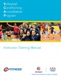 Volleyball Conditioning Accreditation Program VCAP- Instructor Training Manual – VB133