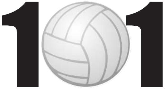 101 Favorite Volleyball Exercises