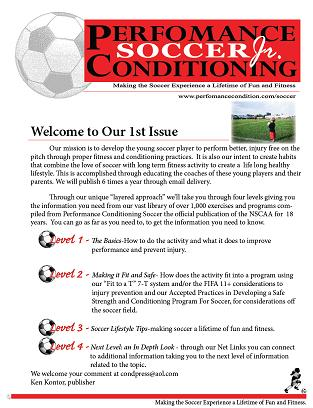 Performance Conditioning Soccer Jr.  – SAY Subscriber