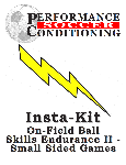 On-field Ball Skills Endurance Volume II-Small Sided Games Insta-kit – SR189